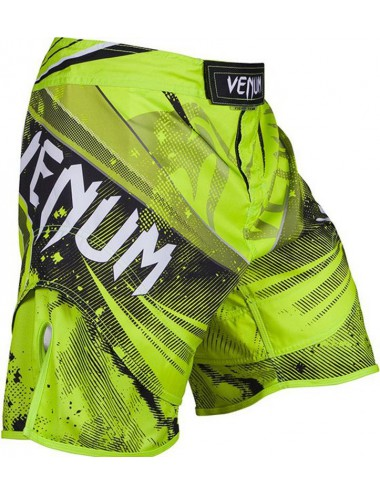 Spodenki MMA  VENUM Galactic Fightshorts Yellow