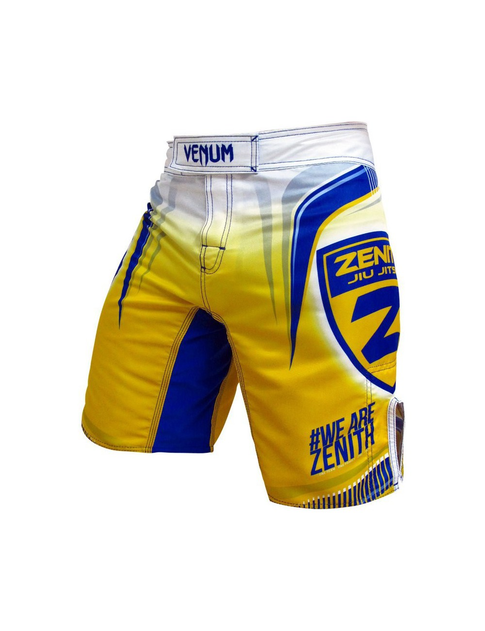 Spodenki BJJ VENUM Zenith Fight Yelow