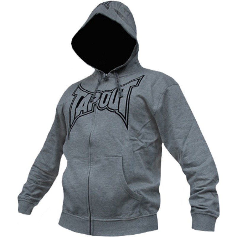 Bluza z kapturem TAPOUT BASIC Grey