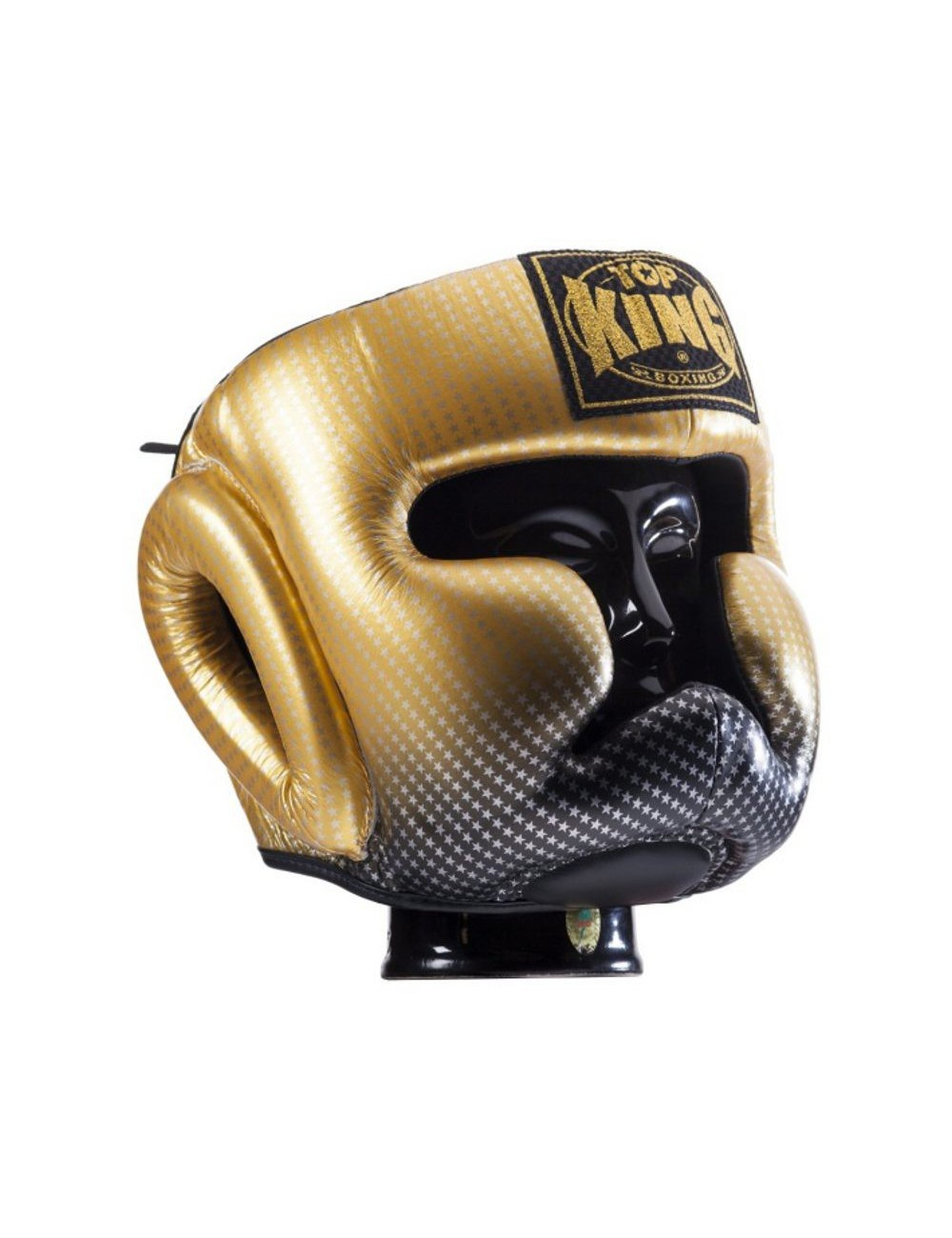Kask bokserski Top-King Super Star Gold