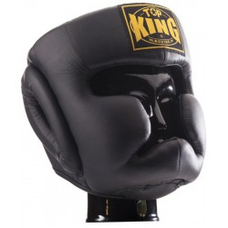 Kask Bokserski Top-King Full Coverage Black
