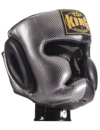 Kask Bokserski Top-King Empover Creativity Silver