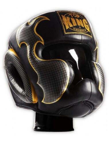 Kask Bokserski Top-King Empower Creativity black / silver