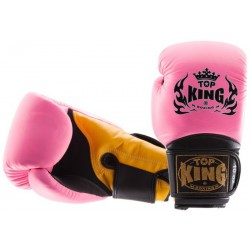 Rękawice Bokserskie Top King Super Air Pink / Yelow