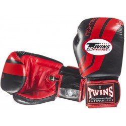 Rękawice bokserskie TWINS Fighting Spirit Black / Red