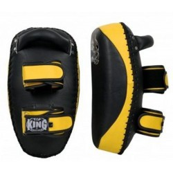 Tarcze Tajskie TOP KING Ultimate Black / Yellow 2szt.