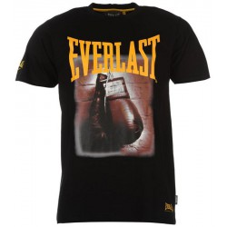 Koszulka EVERLAST Photo Boxing Black
