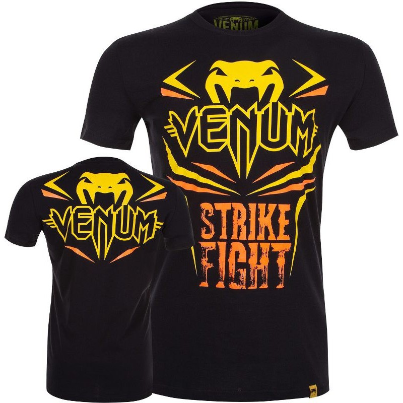 Koszulka T-Shirt VENUM Strike Fight Tee black