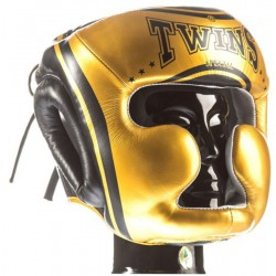 Kask Bokserski Twins FHG-TW4 Black / Gold