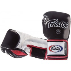 Rękawice bokserskie FAIRTEX  SUPER SPARING BGV5 black/white/red
