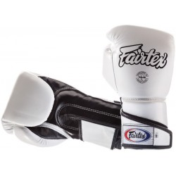 Rękawice bokserskie FAIRTEX ANGULAR SPARRING BGV6 white/black
