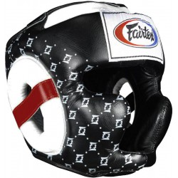 Kask Bokserski FAIRTEX HG10 Super Sparring Black