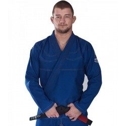 Kimono BJJ GI Champion Blue Ground Game