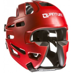 KASK BOKSERSKI QUANTUM SPARINGOWY EXTREME RED