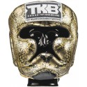 KASK BOKSERSKI  TOP KING SUPER STAR SNAKE GOLD