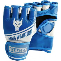 Rękawice MMA Dragon Warrior blue