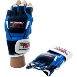 Rękawice MMA Professional Fighter MODERN Blue