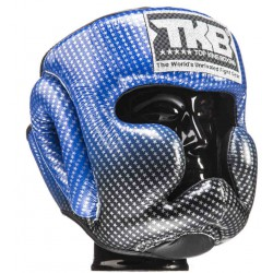 Kask Bokserski treningowy TOP KING Super Star BLUE