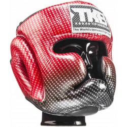 Kask Bokserski treningowy TOP KING Super Star RED