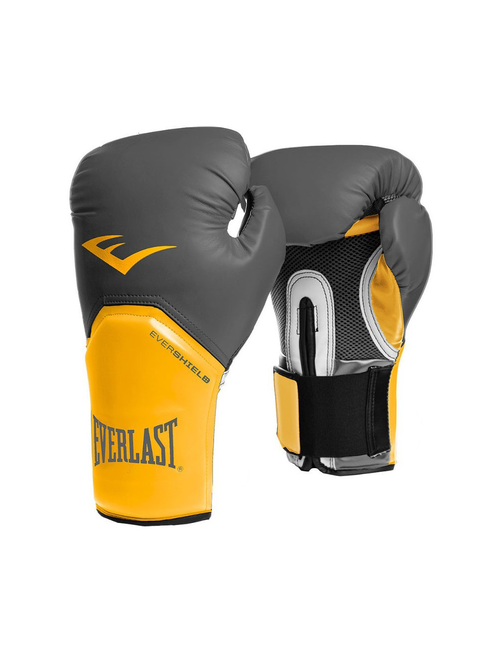 Rękawice bokserskie EVERLAST PRO Style Elite Yellow/Grey