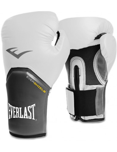 Rękawice bokserskie EVERLAST PRO Style Elite White/Grey