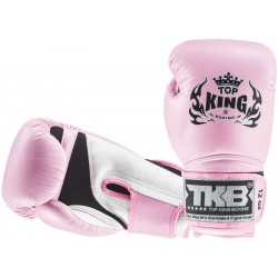 Rękawice Bokserskie Top King Super Air Pink/White