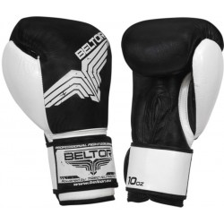 Rękawice bokserskie BELTOR FIGHT PRO black