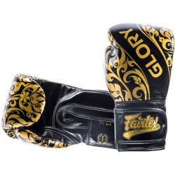 RĘKAWICE BOKSERSKIE FAIRTEX GLORY gold/black
