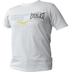 Koszulka T-Shirt EVERLAST Multilogo White