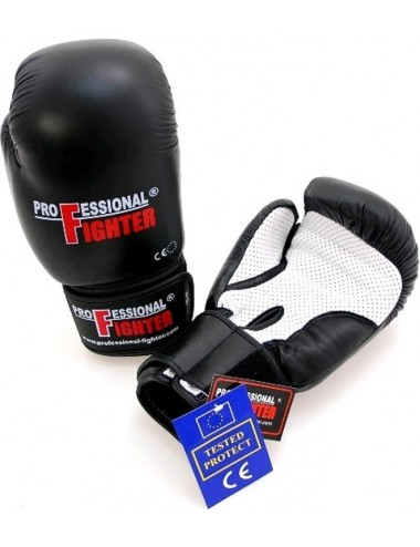 Rękawice Bokserskie Prffesional Fighter Mesh Palm