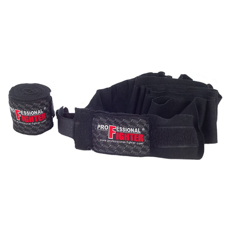 Bandaże bokserskie Professional Fighter ELASTICATED 3m