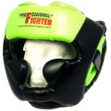 Kask bokserski Professional Fighter Green Line