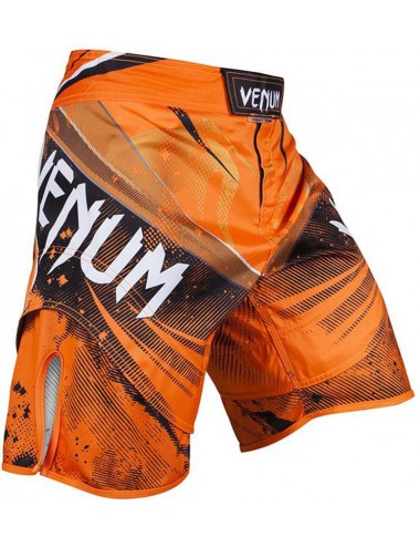 Spodenki MMA VENUM Galactic Fightshorts Orange