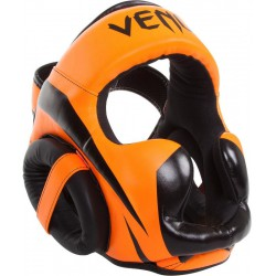 Kask Bokserski VENUM Elite Neo Orange / Black