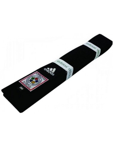 Pas do kimona ADIDAS Elite IJF Czarny