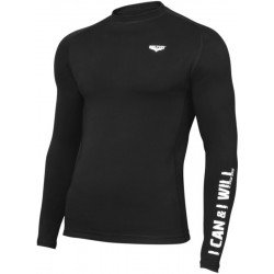 Rashguard Beltor WORKOUT 01black Longsleeve