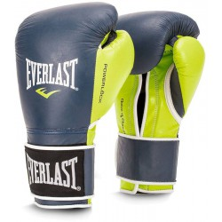 Rękawice EVERLAST Power Lock green/ blue