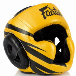 Kask Bokserski FAIRTEX Sparingowy HG13 FULL COVERAGE Black/Blue
