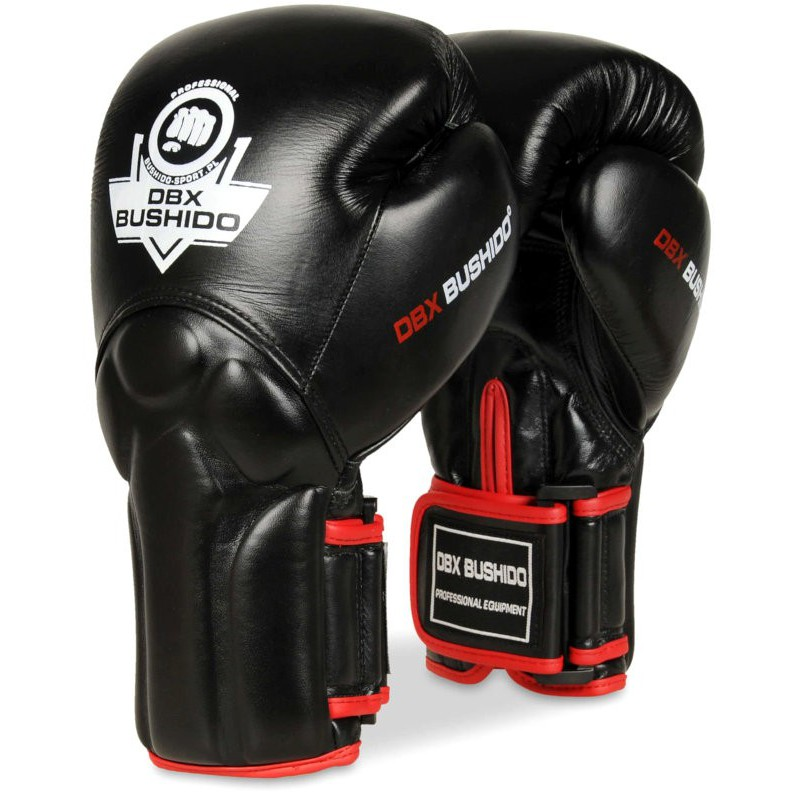 Rękawice bokserskie BUSHIDO BB2 Black / Red
