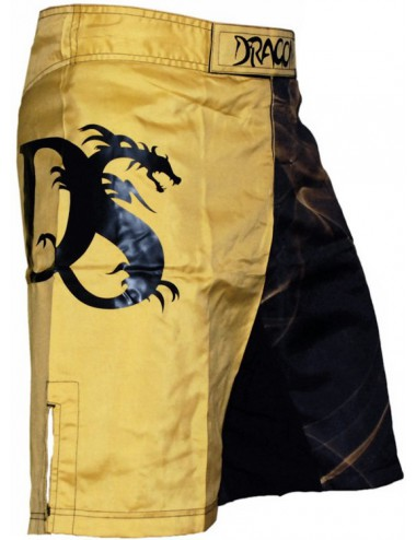 Spodenki MMA Dragon Gold Fire